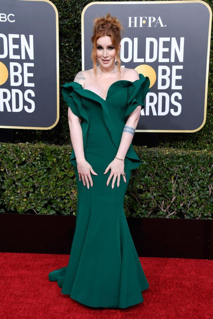 <p>Our Lady J attends the 76th Annual Golden Globe Awards at the Beverly Hilton Hotel in Beverly Hills, Calif., on Jan. 6, 2019. (Photo: Getty Images) </p>