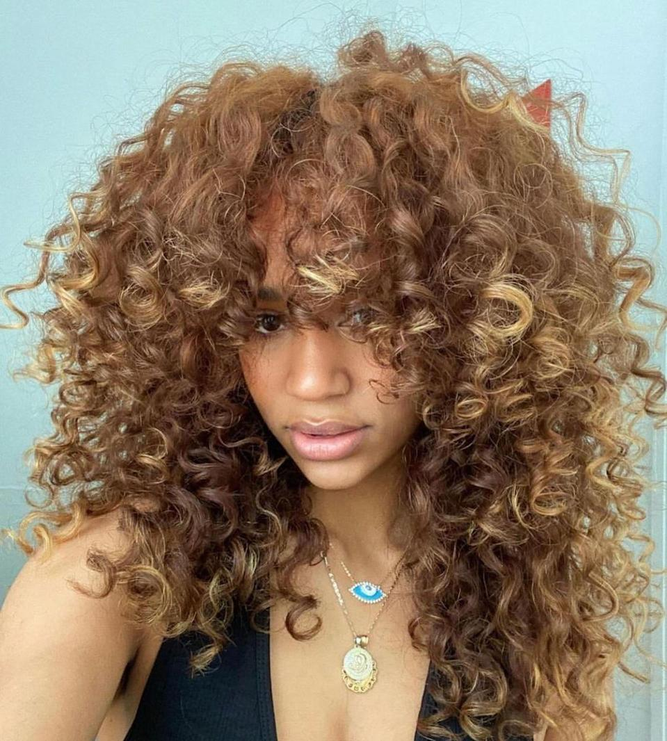 """Take a cue from the weather and go slightly warmer for the sunny months ahead. """"Any shade of copper-toned hair is a go,"""" says Powell. """"This look is perfect for the warmer months. You can ask your stylist for lighter ends and a slightly darker base to create a seamless blend."""""""