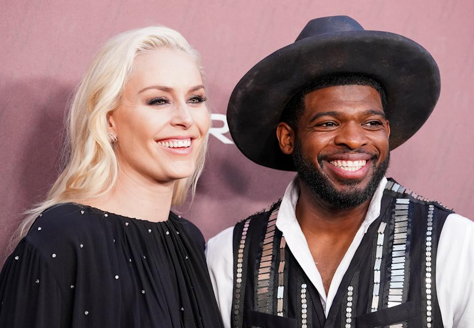 Lindsey Vonn has been helping her boyfriend, New Jersey Devils star P.K. Subban, train this summer while adjusting to her new life after skiing.