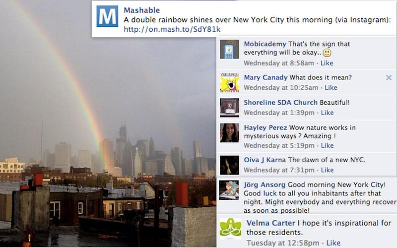 Top Comments on Mashable This Week