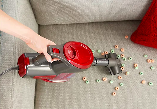 This handy portable vacuum can suck up just about anything. (Photo: QVC)