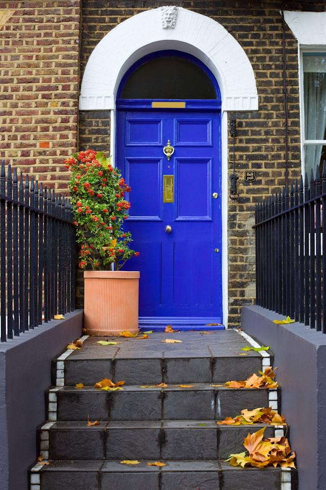 """<p><strong>When it comes to an Insta-worthy entrance, there's no better place to start than the colour of your front door.</strong></p><p>'First impressions count and they last. Try not to think of your front door as a barrier but rather as a gateway into your home,' says property expert Kunle Barker, in response to <a href=""""https://www.harveywatersofteners.co.uk/home-care/revealed-face-britains-front-doors"""" target=""""_blank"""">The Face of Britain's Front Doors</a> study. 'The front door can hint at your design style and even personality. Simple things like painting your front door a bright colour can make a real difference. </p><p>'Last year I painted my front door pink which transformed the entrance to my house and gave our home an injection of personality.'</p><p>Remember, choose a shade that complements your own personal style and think about the mood you want to create. Blue is cool, calming and meditative; pink is gentle, delicate and soft; while yellow is radiant, cheerful and optimistic. </p><p>Browse Instagram hashtags #doorstagram and #doortraits if you're ever in need of some inspiration.  </p>"""