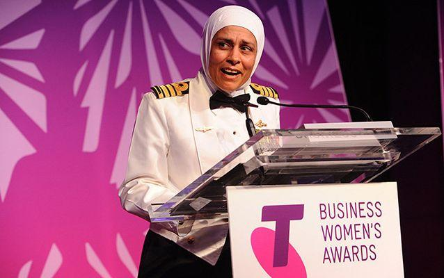 Captain Shindy was awarded the Conspicuous Service Cross in last year's Australia Day honours and was named the Telstra NSW Businesswoman of the Year in November.Source: AAP.