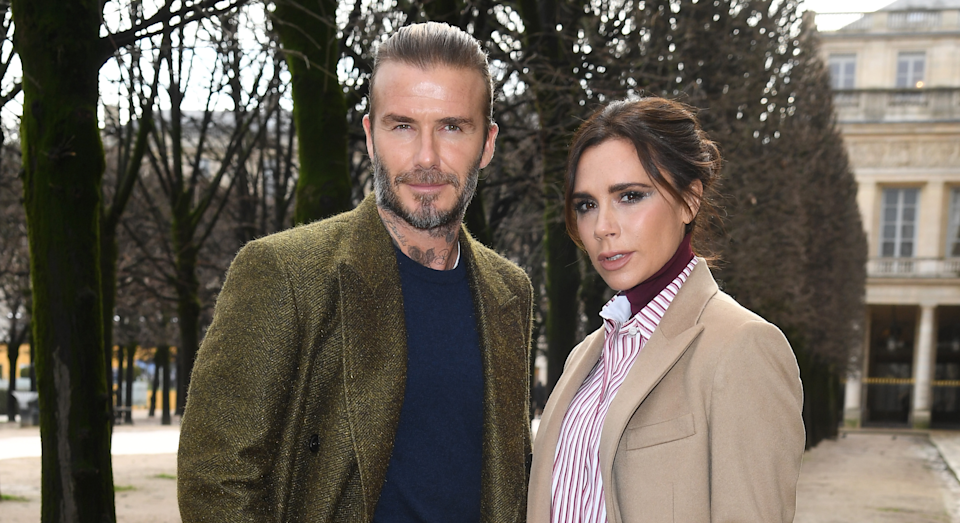 David and Victoria Beckham married in 1999. (Getty Images)
