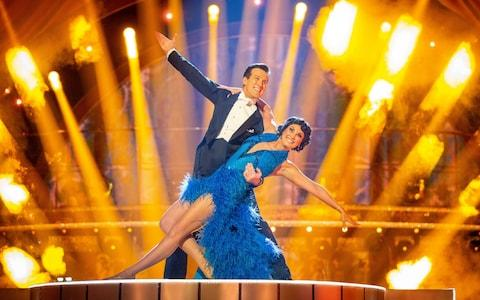 Emma and Anton's showdance
