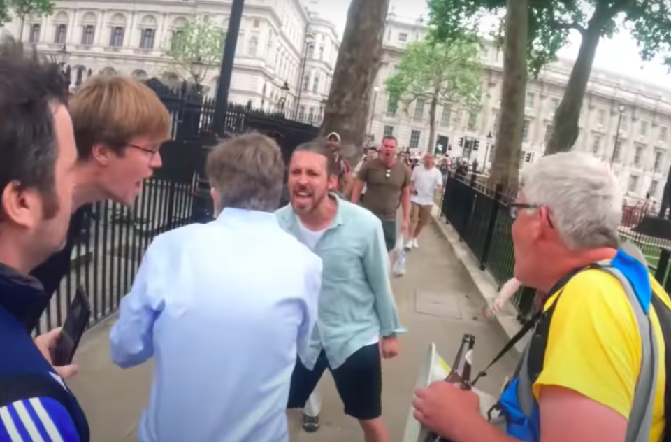 'Completely unacceptable': BBC journalist chased and abused by anti-lockdown protesters