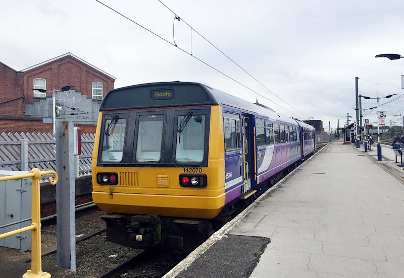 File photo dated 10/9/2017 of a Northern Rail 142 Pacer diesel train at Doncaster station. Rail services on routes operated by Northern are to be brought under public control, with the Department for Transport announcing that it is putting the Government-controlled Operator of Last Resort (OLR) in charge of running services.