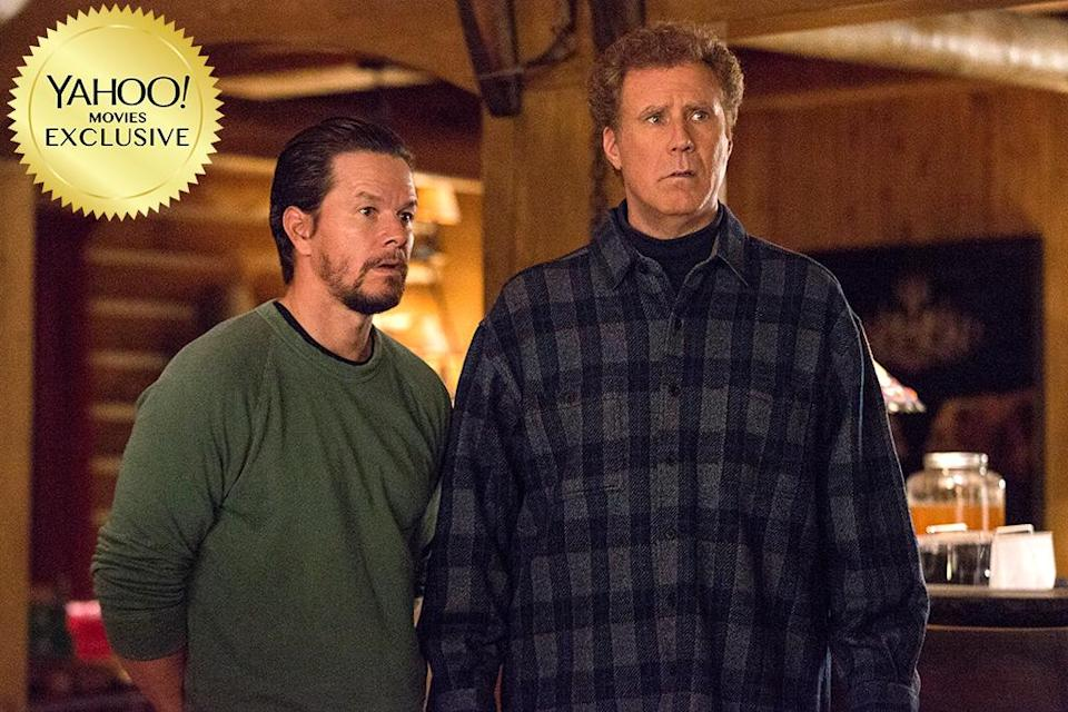 """<p>Another comedy sequel goes multigenerational for Christmas. Now pals, Brad (<a rel=""""nofollow"""" href=""""https://www.yahoo.com/movies/tagged/will-ferrell"""" data-ylk=""""slk:Will Ferrell"""" class=""""link rapid-noclick-resp"""">Will Ferrell</a>) and Dusty (<a rel=""""nofollow"""" href=""""https://www.yahoo.com/movies/tagged/mark-wahlberg"""" data-ylk=""""slk:Mark Wahlberg"""" class=""""link rapid-noclick-resp"""">Mark Wahlberg</a>) must deal with the arrivals of their own fathers (<a rel=""""nofollow"""" href=""""https://www.yahoo.com/movies/tagged/john-lithgow"""" data-ylk=""""slk:John Lithgow"""" class=""""link rapid-noclick-resp"""">John Lithgow</a> and <a rel=""""nofollow"""" href=""""https://www.yahoo.com/movies/tagged/mel-gibson"""" data-ylk=""""slk:Mel Gibson"""" class=""""link rapid-noclick-resp"""">Mel Gibson</a>). 