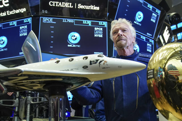 Sir Richard Branson has been forced to sell a stake in Virgin Galactic. Photo: Getty