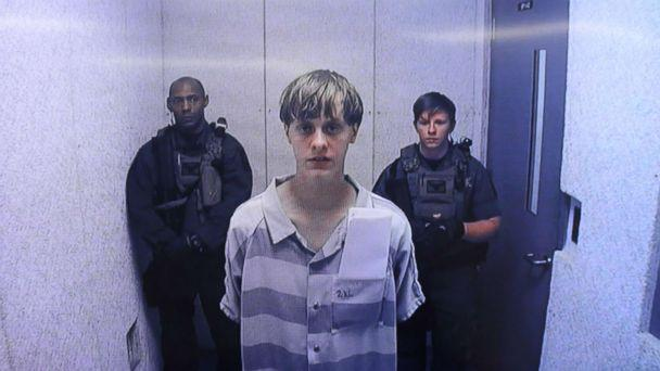 PHOTO: Dylann Roof appears at Centralized Bond Hearing Court on June 19, 2015 in North Charleston, South Carolina. (Grace Beahm-Pool/Getty Images)