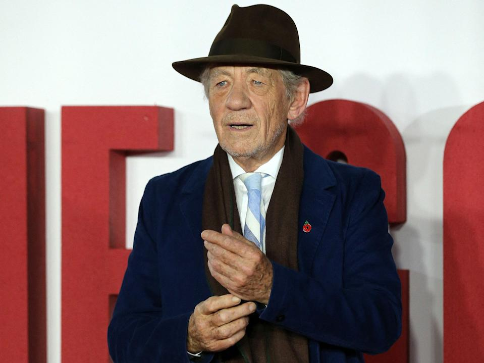 McKellen in 2019 (AFP via Getty Images)