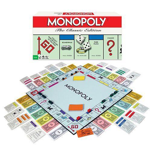 """<p><strong><em>Classic Monopoly Board Game, $20</em></strong> <a class=""""link rapid-noclick-resp"""" href=""""https://www.amazon.com/gp/product/B002JSM3KQ/?tag=syn-yahoo-20&ascsubtag=%5Bartid%7C10050.g.35033504%5Bsrc%7Cyahoo-us"""" rel=""""nofollow noopener"""" target=""""_blank"""" data-ylk=""""slk:BUY NOW"""">BUY NOW</a></p><p>The earliest known version of Monopoly, known as The Landlord's Game, was designed in 1904 to illustrate economic consequences and concepts of economic privilege and land value taxation. It doesn't sound fun, but it is.</p><p><strong>More:</strong> <a href=""""https://www.bestproducts.com/parenting/kids/g985/best-family-board-games/"""" rel=""""nofollow noopener"""" target=""""_blank"""" data-ylk=""""slk:Here's How to Amp Up Family Game Night!"""" class=""""link rapid-noclick-resp"""">Here's How to Amp Up Family Game Night!</a></p>"""