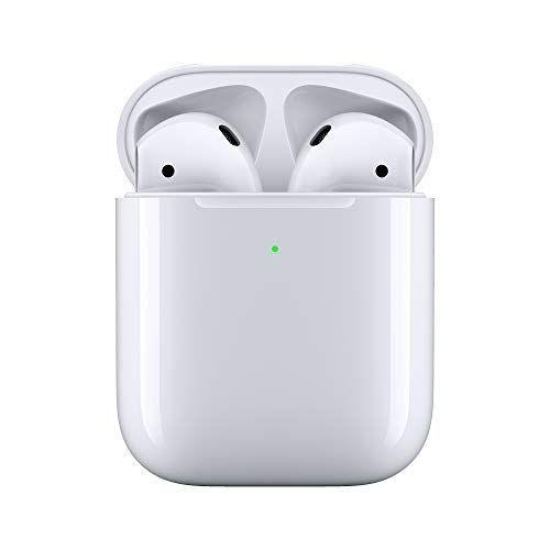 """<p><strong>Apple</strong></p><p>amazon.com</p><p><strong>$169.00</strong></p><p><a href=""""https://www.amazon.com/dp/B07PYLT6DN?tag=syn-yahoo-20&ascsubtag=%5Bartid%7C10072.g.26825396%5Bsrc%7Cyahoo-us"""" rel=""""nofollow noopener"""" target=""""_blank"""" data-ylk=""""slk:Shop Now"""" class=""""link rapid-noclick-resp"""">Shop Now</a></p><p>Make his life a little easier by replacing wire-wrapped headphones with these worth-the-splurge AirPods. No, they won't fall out of his ears. </p>"""