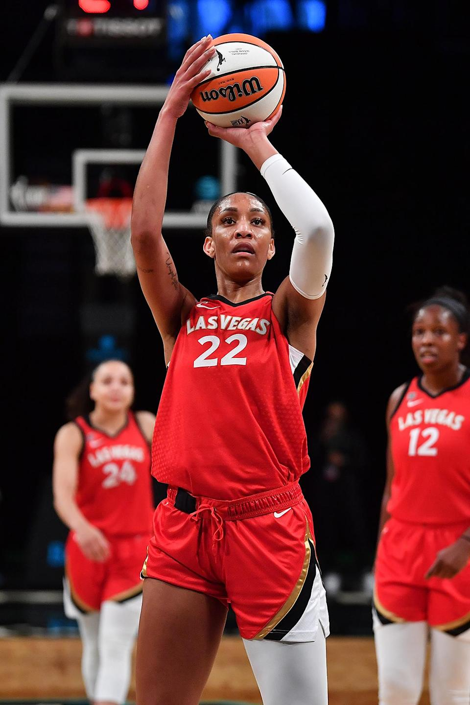 <p>WNBA star A'ja Wilson is headed to the Olympics for the first time this year! </p>
