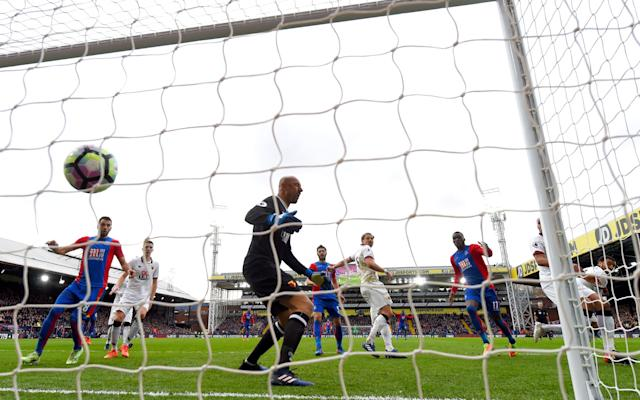 Troy Deeney scored an own goal to hand Palace the three points - 2017 Getty Images