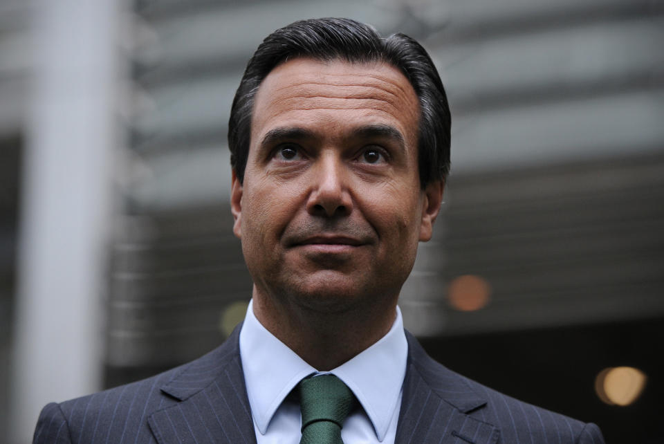 Lloyds Banking Group's chief executive Antonio Horta-Osorio. Photo: Carl Court/AFP via Getty Images