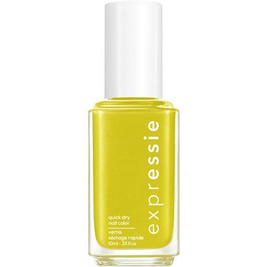 """<h3>We Don't Mesh</h3><br>We can say confidently that if you rocked up to Orange Julius with this green-yellow shade on your fingertips, you'd get at least one person asking you about it.<br><br><strong>Essie</strong> Essie Expressie Quick-Dry Nail Polish Dial It Up, $, available at <a href=""""https://go.skimresources.com/?id=30283X879131&url=https%3A%2F%2Fwww.ulta.com%2Fexpressie-quick-dry-nail-polish-dial-it-up-collection%3FproductId%3Dpimprod2021041"""" rel=""""nofollow noopener"""" target=""""_blank"""" data-ylk=""""slk:Ulta Beauty"""" class=""""link rapid-noclick-resp"""">Ulta Beauty</a>"""