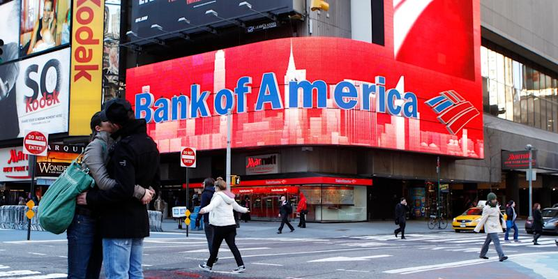 bank of america time square