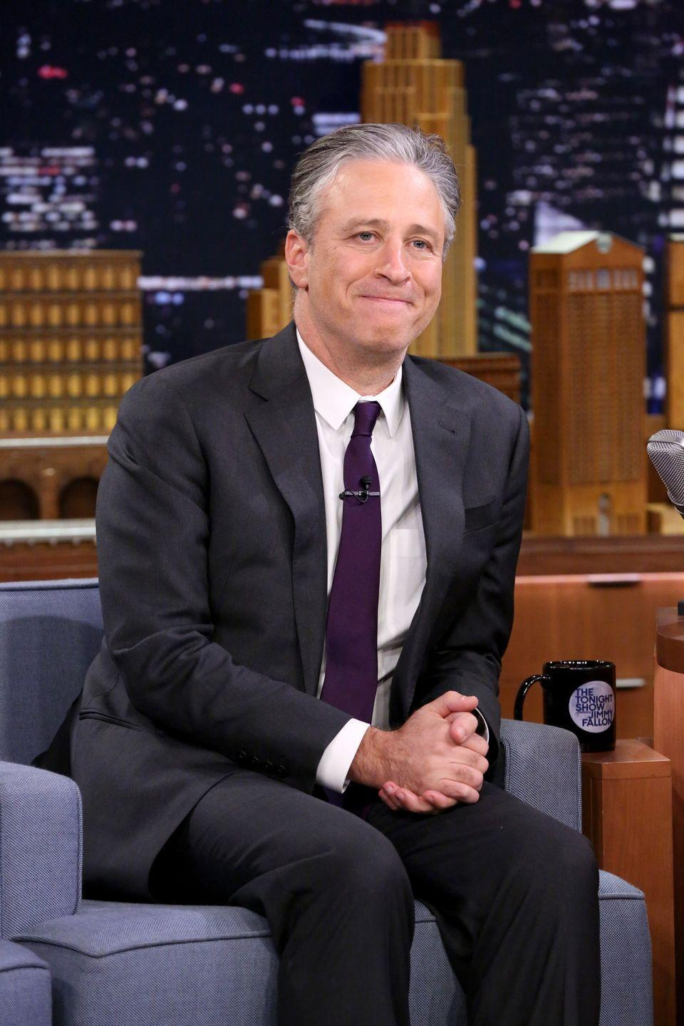 """<p>Jon Stewart may be known for his comedic wit today, but back in the day the entertainer earned accolades on the soccer field. Stewart played on the <a href=""""https://www.ncaa.com/news/soccer-men/article/2015-08-06/jon-stewart-was-college-soccer-star-long-daily-show-host#:~:text=Jon%20Stewart%20once%20led%20William%20%26%20Mary%20to%20NCAA%20tournament%20in%201983.&text=In%20his%20three%20seasons%20as,in%20the%201983%20ECAC%20championship."""" rel=""""nofollow noopener"""" target=""""_blank"""" data-ylk=""""slk:varsity soccer team"""" class=""""link rapid-noclick-resp"""">varsity soccer team </a>during his years at William & Mary in the '80s. </p>"""