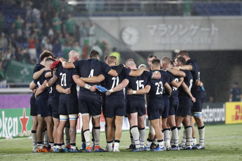 Japan Rugby WCup Ireland Scotland