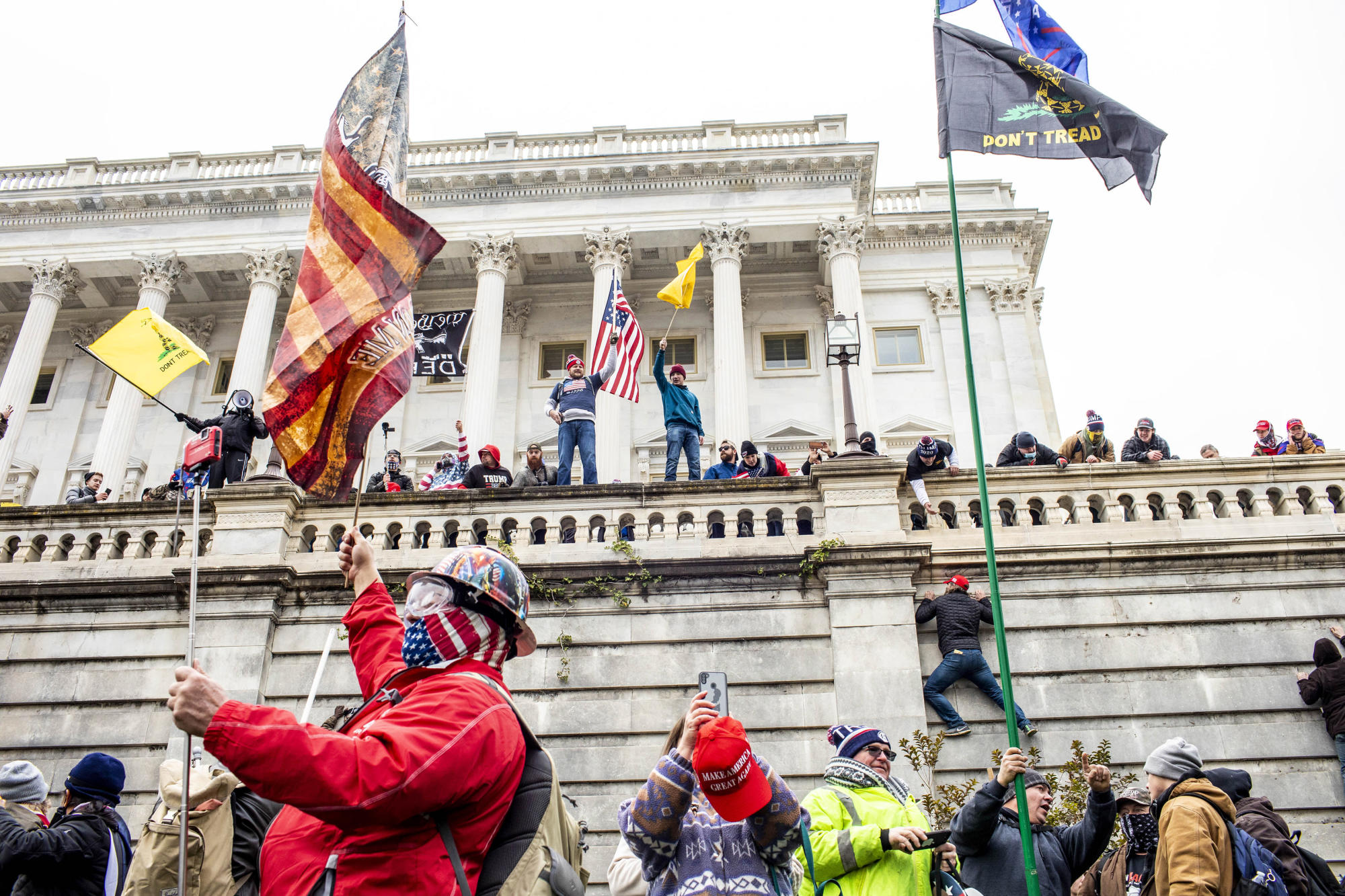 Before the Capitol Riot, Calls for Cash and Talk of Revolution