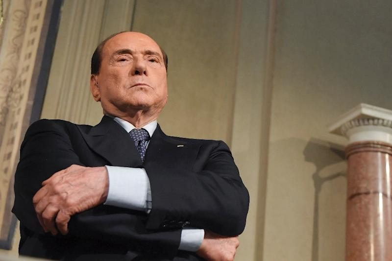 Berlusconi has also offered himself up as future premier