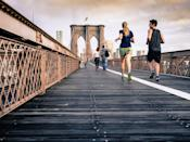 """<p>You are the company you keep, and research shows that's especially true when it comes to staying in shape. A 2016 study published in <strong>Obesity</strong> found that <a href=""""https://onlinelibrary.wiley.com/doi/full/10.1002/oby.21512"""" class=""""link rapid-noclick-resp"""" rel=""""nofollow noopener"""" target=""""_blank"""" data-ylk=""""slk:overweight individuals lost more weight when they interacted more frequently with fit friends"""">overweight individuals lost more weight when they interacted more frequently with fit friends</a>, and another 2010 study published in the <strong>Journal of Social Sciences</strong> found that <a href=""""https://www.psychologytoday.com/sites/default/files/attachments/34033/jssarticle.pdf"""" class=""""link rapid-noclick-resp"""" rel=""""nofollow noopener"""" target=""""_blank"""" data-ylk=""""slk:people tend to gravitate to exercise behaviors of those around them"""">people tend to gravitate to exercise behaviors of those around them</a>. <a href=""""https://www.popsugar.com/fitness/Why-You-Should-Work-Out-Your-Friends-41814521"""" class=""""link rapid-noclick-resp"""" rel=""""nofollow noopener"""" target=""""_blank"""" data-ylk=""""slk:Find a friend who's crushing her workout routine"""">Find a friend who's crushing her workout routine</a> lately and ask to join her in a class or for a morning run to reap the weight-loss benefits.</p>"""