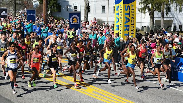 """The apparel company is """"incredibly sorry"""" for sending an insensitive promotional email to competitors in the Boston Marathon."""