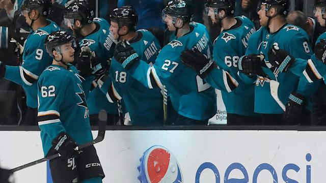 After having a bounce-back season and signing a one-year contract, Kevin Labanc is ready to take on more responsibility for the Sharks.