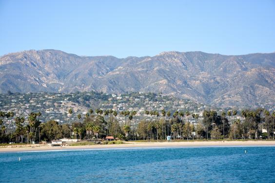 Santa Barbara's Pacific Ocean coast is a good place to spot dolphins and whales (iStock)