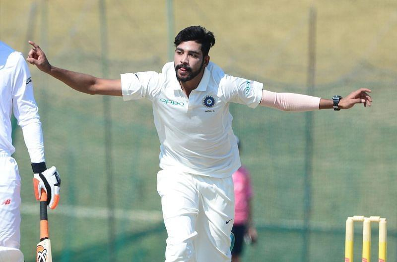 RCB pacer Mohammed Siraj has been called up to India's Test squad