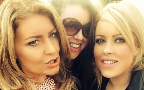 Laura Plummer pictured with her sisters Rachel Plummer and Jayne Synclair