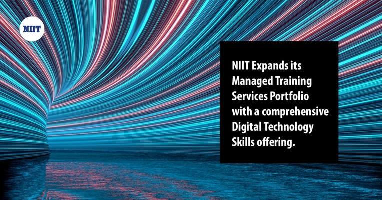 NIIT expands its portfolio of managed training services with a comprehensive offering of digital technology skills.