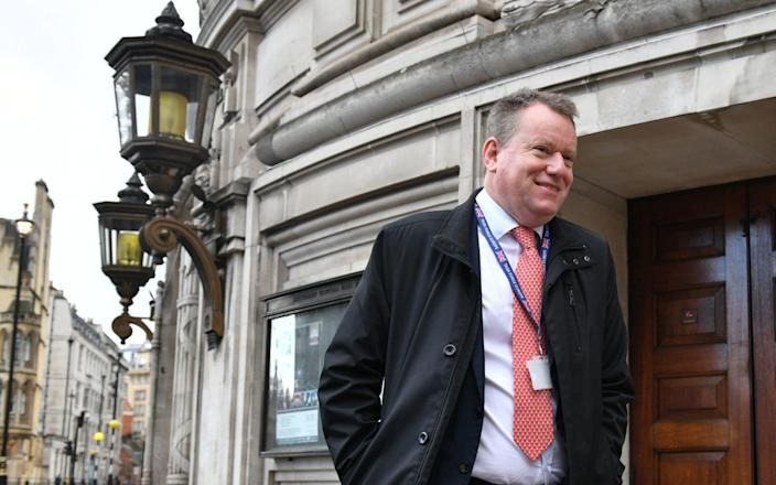 Lord Frost is no stranger to challenging negotiations - PA