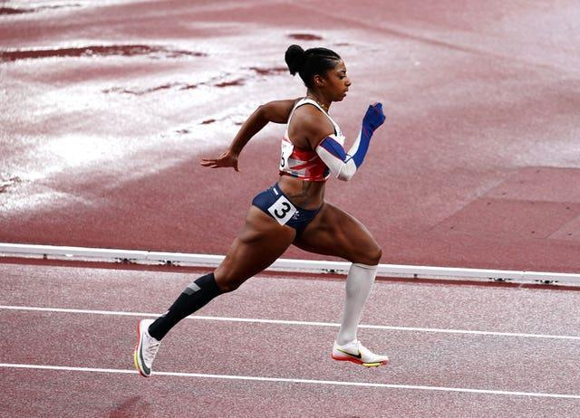 Great Britain's Kadeena Cox is through to the final of the women's T38 400m