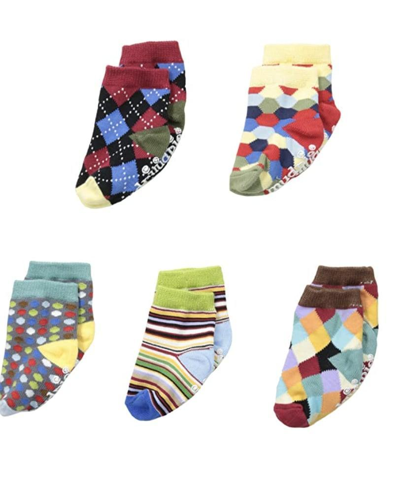 <p>It's never too early to learn the importance of stylish socks, so let Dad pass this lesson on to their little one in the cutest way possible: with a matching <span>Mud Pie Baby Boy Sock Set</span> ($20). </p>