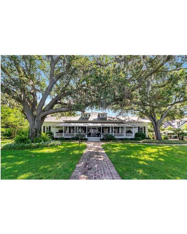 """<p>Price: $8.9 million<br /> <br /> Thisestate is situated on gorgeous lush lawns with unmatched waterfront beach access. When you enter the property, you'll find classic Southern home detailing, including a large fountain in front of the house and a gorgeous covered wraparound porch. Inside the house, classic hardwood gives the house warmth, and unique wood paneling on the walls and ceilings add a unique touch. Outside, enjoy warm evenings with friends and family on the home's stone patio complete with an outdoor fireplace. In the back of the property you'll find a private beach with a bayside courtyard, a his and hers bathhouse with beachside showers, and two private, covered wharfs jetting out onto the Gulf of Mexico.</p> <p>This article originally appeared on <a rel=""""nofollow"""">RealSimple.com.</a> <br/><a rel=""""nofollow"""" href=""""http://www.realsimple.com/work-life/most-expensive-homes"""">http://www.realsimple.com/work-life/most-expensive-homes</a></p>"""