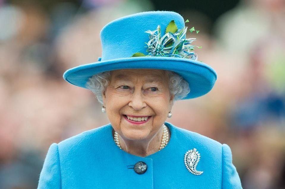 """<p>The Queen watched the show regularly and <a href=""""https://www.vanityfair.com/hollywood/2015/09/downton-abbey-queen-elizabeth"""" rel=""""nofollow noopener"""" target=""""_blank"""" data-ylk=""""slk:liked"""" class=""""link rapid-noclick-resp"""">liked</a> to watch for historical inaccuracies. </p><p><strong>RELATED: </strong><a href=""""https://www.goodhousekeeping.com/life/entertainment/a29125322/kate-middleton-downton-abbey-set-visit/"""" rel=""""nofollow noopener"""" target=""""_blank"""" data-ylk=""""slk:Kate Middleton Was &quot;Mesmerizing&quot; During Her Downton Abbey Set Visit"""" class=""""link rapid-noclick-resp"""">Kate Middleton Was """"Mesmerizing"""" During Her <em>Downton Abbey</em> Set Visit</a></p>"""