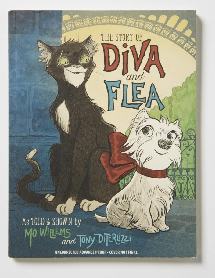 "Best Beginning Chapter Book: ""The Story of Diva and Flea"" by Mo Willems and Tony DiTerlizzi"