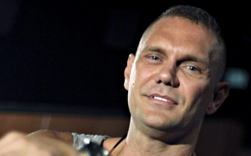 Nacho Vidal, who has starred in more than 600 porn films, was named as a suspect  - EPA