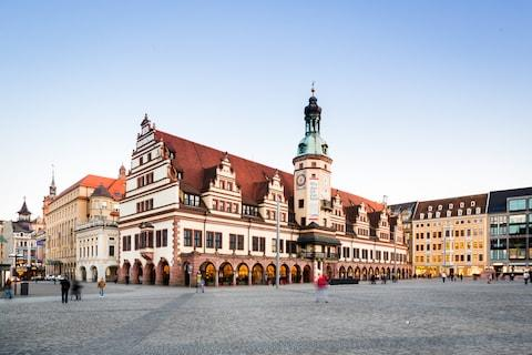 Leipzig is an up-and-coming city break option - Credit: GETTY