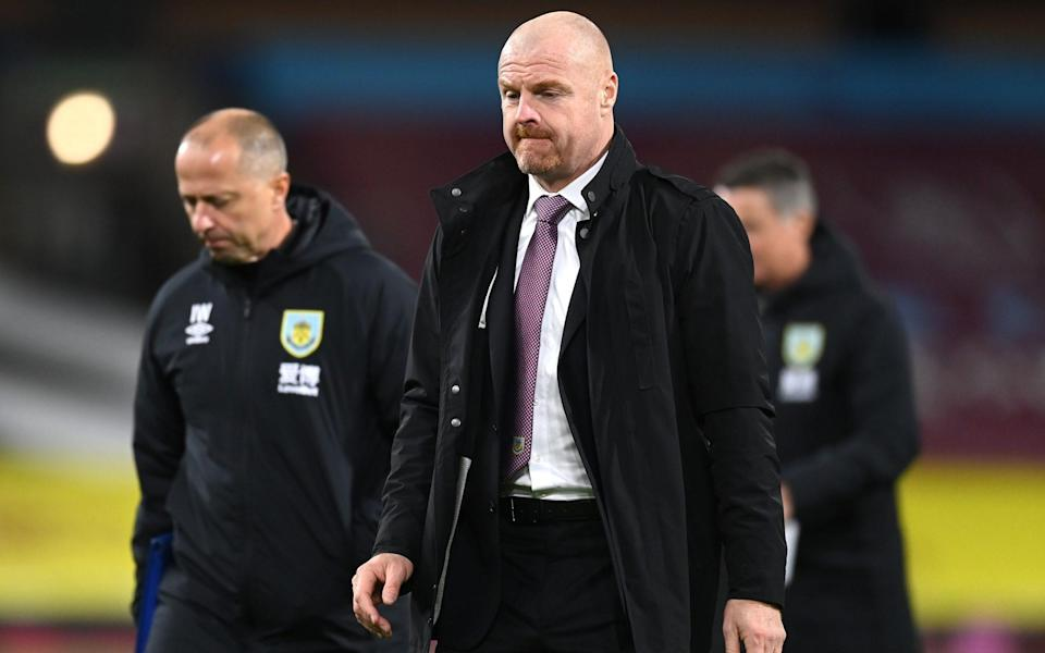 Sean Dyche - GETTY IMAGES