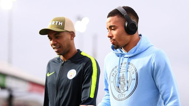 Manchester City striker Gabriel Jesus had gone 10 games without a goal for club and country and thanked Fernandinho for his advice.