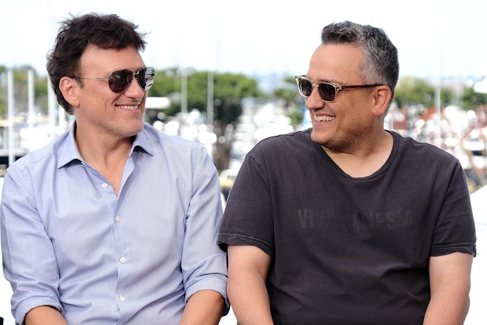 SAN DIEGO, CALIFORNIA - JULY 20: Anthony Russo and Joe Russo speak onstage at the #IMDboat at San Diego Comic-Con 2019: Day Three at the IMDb Yacht on July 20, 2019 in San Diego, California. (Photo by Tommaso Boddi/Getty Images for IMDb)