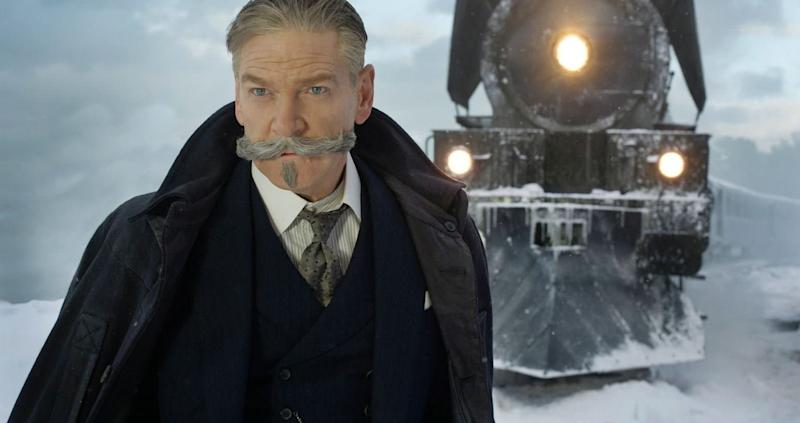 Kenneth Branagh dans Le Crime de l'Orient-Express - Copyright 2017 Twentieth Century Fox