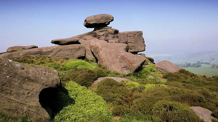 PBR examples are all around us: The Brimham Rocks in Yorkshire