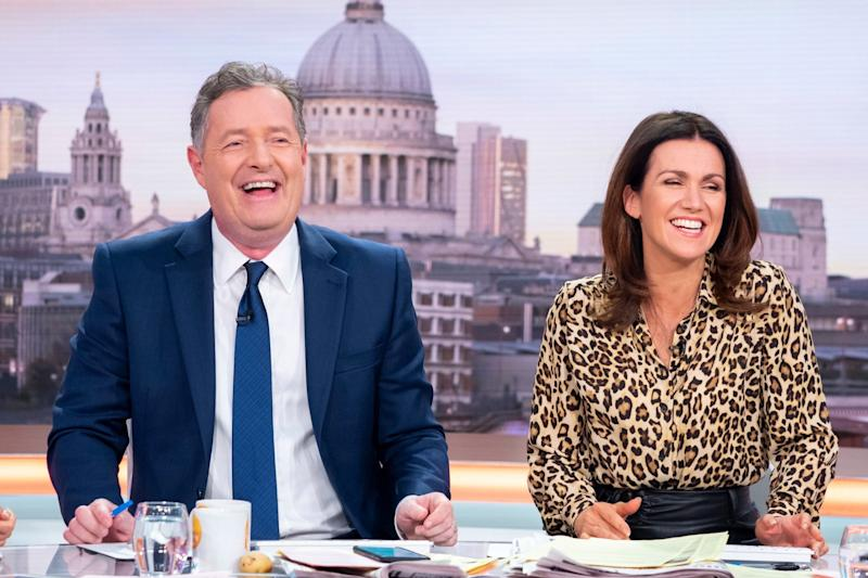 Revealed: Piers Morgan aired the shocking confession on this morning's Good Morning Britain (Ken McKay/ITV/Rex)