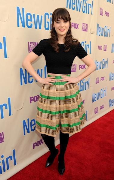 """New Girl"" screening and Q&A at the Academy of Television Arts & Sciences - Zooey Deschanel"