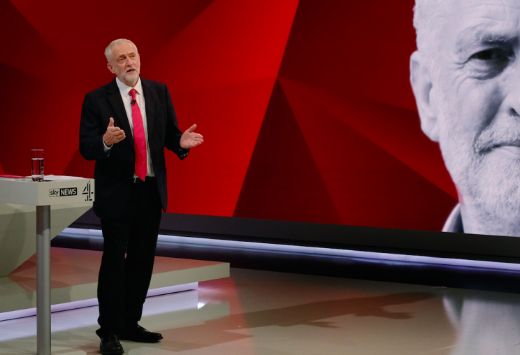 Jeremy Corbyn makes his case for leading the country (Picture: PA)
