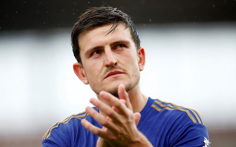 Maguire was left out of Leicester City's squad for Friday'sfriendly against Atalanta and - Action Images via Reuters